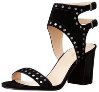 Nine West Heels Stud Studded Heel black Sandals