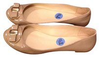 Nine West Nude Flats