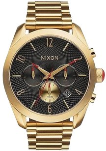Nixon Nixon Bullet Chronograph Gold-tone Ladies Watch A366510