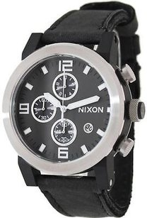 Nixon Nixon The Ride Black Chrono Mens Watch A315000-00