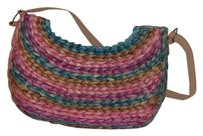 Tote in Multi color palm frons bag