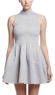 Nordstrom short dress Grey on Tradesy