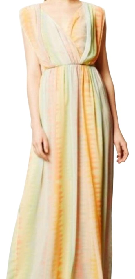 NWT ANTHROPOLOGIE PASTEL MAXI DRESS