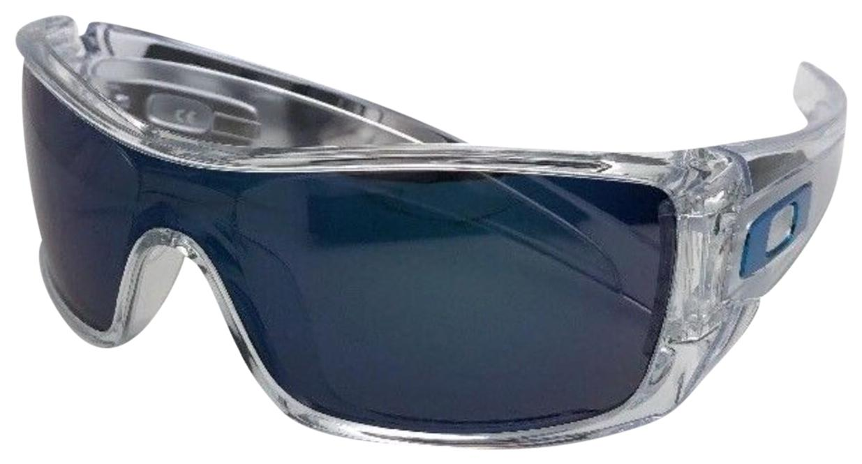 7262632b698 ... netherlands oakley new oakley sunglasses batwolf oo9101 07 clear frame  w ice iridium 97d2a faf84