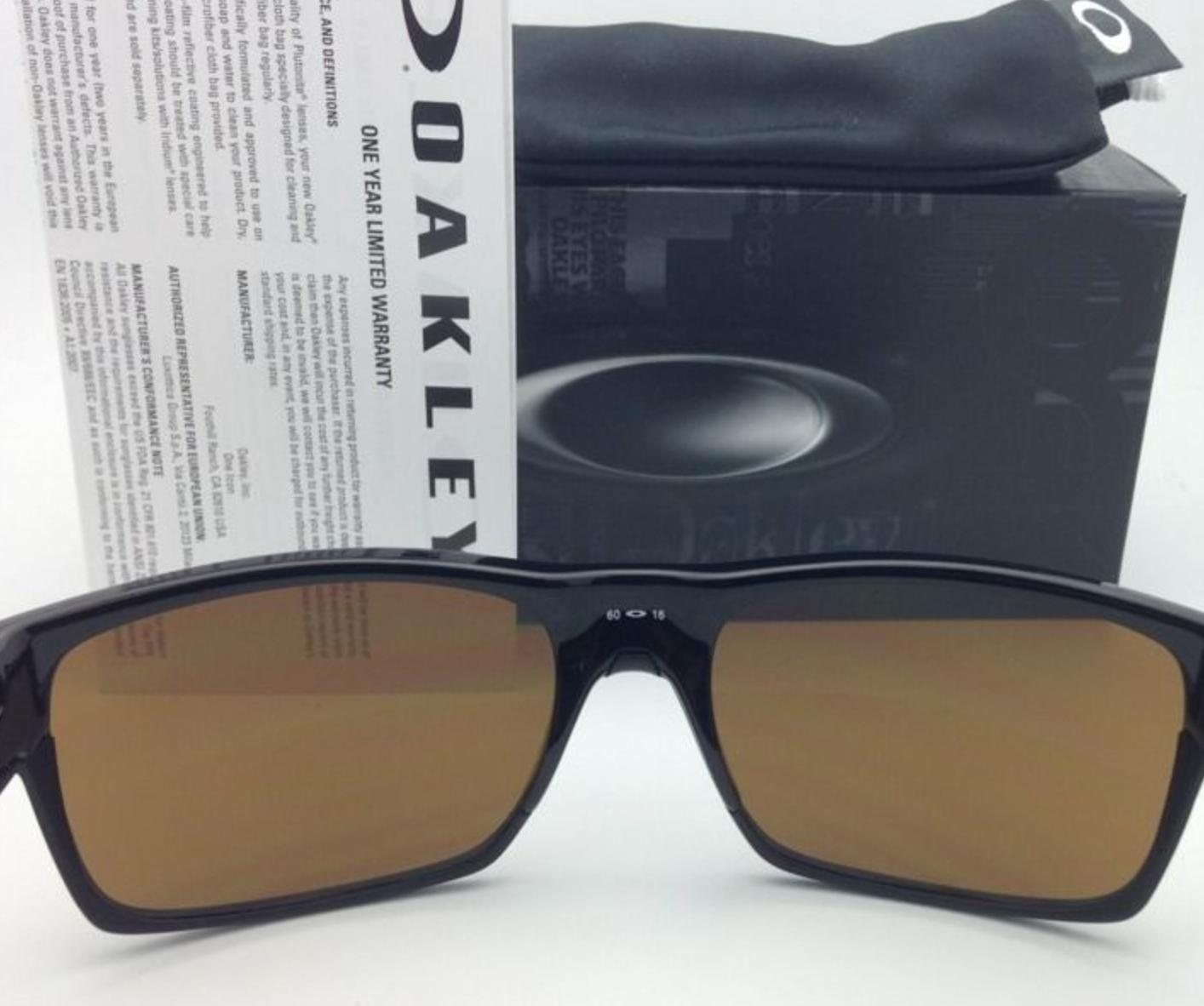 98b143d2e85f7 ... best oakley new oakley sunglasses twoface oo9189 03 60 16 black w dark  bronze. 123456789101112