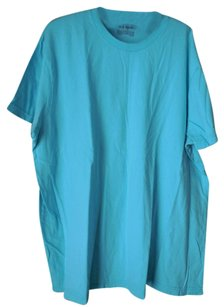 Old Navy Plus-size Mens Size Short Sleeves Crew Neck T Shirt Aqua