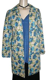 Old Navy Trendy Floral Print Cotton Casual Coat Multi-Color Jacket