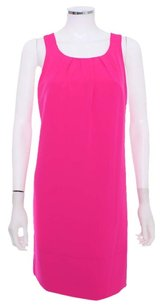 Oleg Cassini short dress Hot Pink Sleeveless Tunic on Tradesy