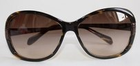 Oliver Peoples Oliver Peoples Brown Tortoise Sunglasses With Hammered Bronze Arm Xlnt