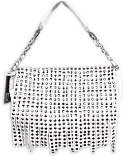 Olivia + Joy Designer Fringe Hobo Bag