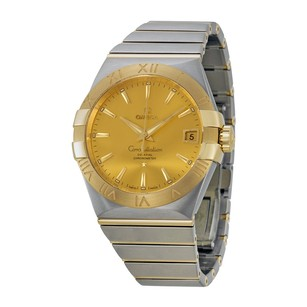 Omega Constellation Chronometer Automatic Champagne Dial Men's Watch