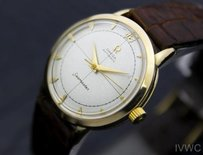 Omega Omega 10k Gold Filled Mens Vintage Swiss Seamaster Automatic Watch 1950s 4029