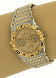 Omega Omega Constellation Chronometer Stainless Steel Sapphire Crystal Mens Watch