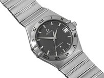 Omega Omega Constellation Mens Bracelet Watch, Gray Dial