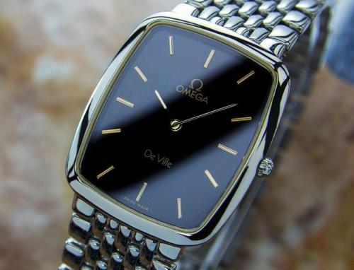 omega deville quartz swiss made