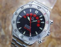 Omega Omega Seamaster Apnea 42mm Stainless Steel Jacques Mayol Red Count 25955000 K4