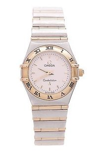 Omega Omega Two-tone Stainless Steel Constellation Womens Watch