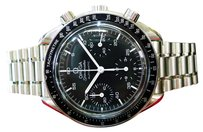 Omega Mens Omega Speedmaster Automatic Chronograph Stainless Steel Watch C. 1995