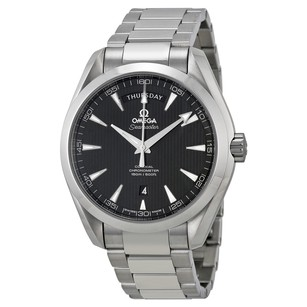 Omega Seamaster Aqua Terra Black Dial Stainless Steel Automatic Men's Watch
