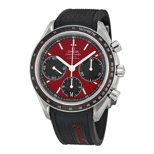 Omega Speedmaster Racing Automatic Red Dial Stainless Steel Men's Watch