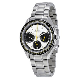 Omega Speedmaster Racing Co-Axial White Dial Stainless Steel Men's Watch
