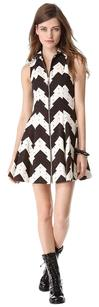 Opening Ceremony short dress Black/White on Tradesy