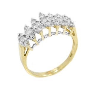 10k Yellow Gold 0.35 Ct Kp1 Diamond Ring 9.9 Grams Ring
