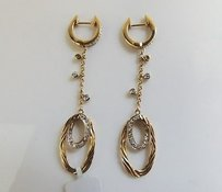 Other 14k Yellow Gold Diamonds Earrings