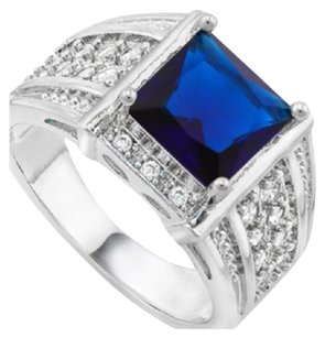 Other 2.30ctw Sapphire & White Sapphire Ring