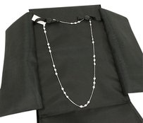 2.40ct Diamonds By The Yard 14k White Gold Chain Necklace