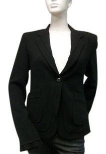 Other A Woman Black Diana Single Button Blazer Jacket 2092-cv