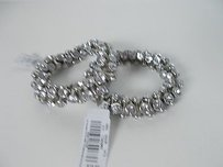 Other American Eagle Outfitters Silver Crystal Nugget Stretch Bracelet Lot
