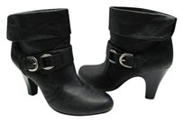 Unknown Ankle Size 8-1/2 BLACK Boots