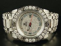 Aqua Master Jojo Joe Rodeo Magnum Diamond Watch 17.0 Ct