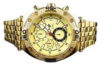 Other Aqua Master Jojo Joe Rodeo Yellow Gold Mm W351 Genuine Diamond Watch