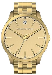 Armani Exchange Gold-tone Mens Watch Ax2167
