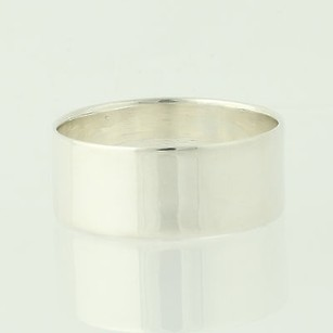 Mens Silver Band - Sterling 925 Wedding Fashion 13.5-13.75 Ring Polished