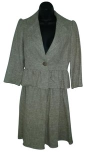 Other Barneys New York Linen Tweed Jacket & Skirt