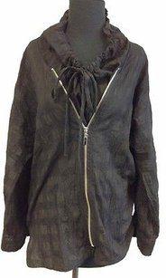 Kyela Cotton Long Black Jacket