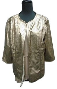 Travelers By Chicos Bronze Jacket