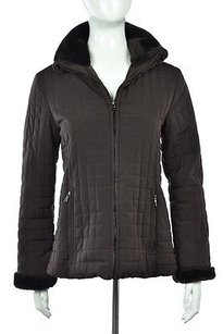 Marc Ny Andrew Marc Womens Brown Jacket