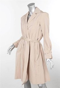 Other Peter Soronen Nude Wrap Coat Trench Pink Jacket