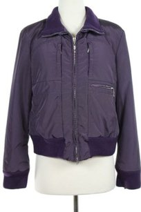 Post Card Womens Solid Purple Jacket