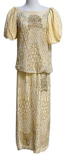 Alyce Designs Beige100 Poly Dress