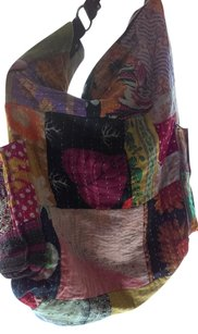 Bohemian Patchwork Tote in Multi/patchwork