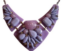 Bold and Beautiful Purple Chroma, Austrian Crystal Necklace (16-18 in) in Stainless Steel