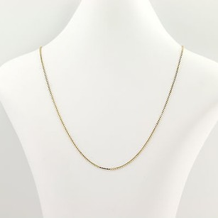 Other Box Chain Necklace 20 - 14k Yellow Gold Lobster Claw Clasp