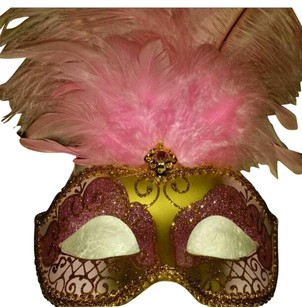 Other Brand New Pink Masquerade Mask