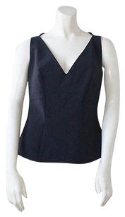 Giles Stretch Fitted Top Black