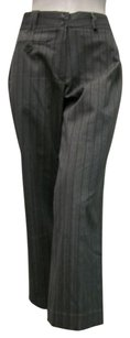 Other Mondo Black Pinstriped Career With Tags Capri/Cropped Pants Gray
